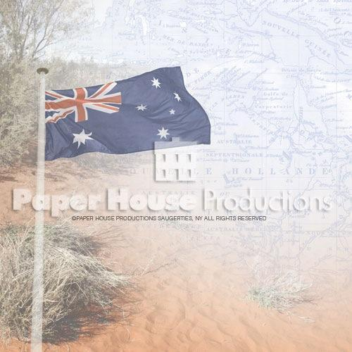 Australia Map Paper by Paper House Productions