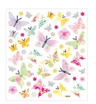 Pastel Butterflies Stickers