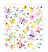 Pastel Butterflies Stickers