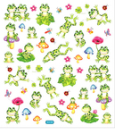 Frogs & Bugs Stickers