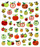Apples & Bees Stickers