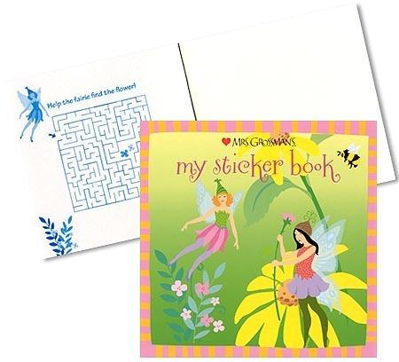Fairy Fantasy Sticker Book - Mrs Grossman's Stickers