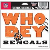 Who Dey? Bengals NFL Decal