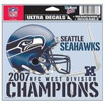 2007 NFC West Champions NFL Decal