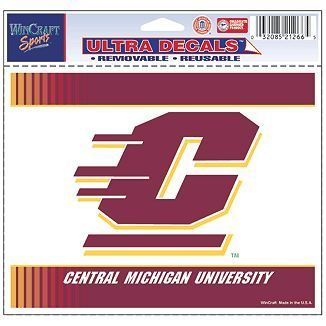 Central Michigan University NCAA Decal