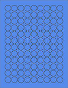 "Blue .75"" Circle"