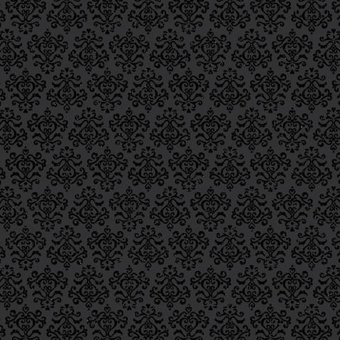 Beetle Black Glitter 12x12 Cardstock by Doodlebug