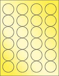 "Gold Foil 1.67"" Circle"