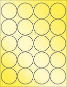 "Gold Foil 2"" Circle"