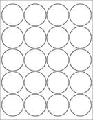 "White Gloss 2"" Circle"