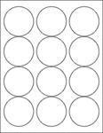 "Clear Gloss 2.5"" Circle"