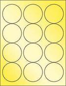 "Gold Foil 2.5"" Circle"