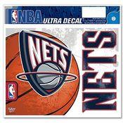 New Jersey Nets NBA Decal