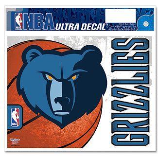 Memphis Grizzlies NBA Decal