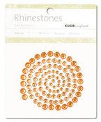 Orange Rhinestones