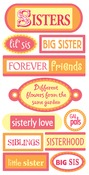 Sisters Tags 3D