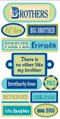 Brothers Tags 3D