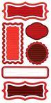 Be Mine Chipboard Journal Stickers