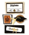 Graduation Stacked Stickers by Karen Foster