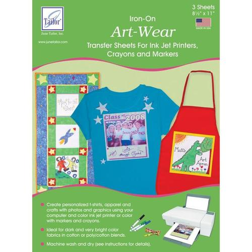 Art - Wear Design Sheets, 8.5x11