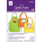 Quick Fuse Mini Iron - On Fabric Sheets
