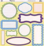 Happy Easter Glitter Journal Cardstock Stickers