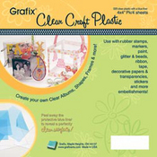 Clear Craft Plastic 12x12