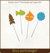 Rough & Tough Pins by Fancy Pants