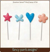 Sassy Pins by Fancy Pants