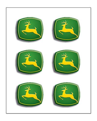 Creative Imaginations John Deere John Deere Logos Brads A