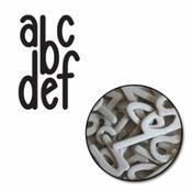Noah Mini Chipboard Alphabet Set