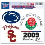 2009 Rose Bowl Decal