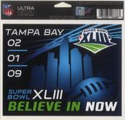 Super Bowl XLIII Decal
