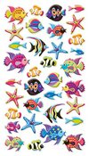 Tropical Fish Puffy Stickers Sticko Stickers