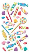 Sweet Tooth Puffy Stickers Sticko Stickers