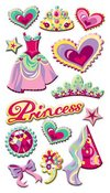 Princess Puffy Stickers Sticko Stickers