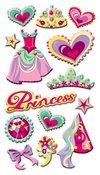 Princess Puffy Stickers Sticko Stickers