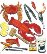 Crustacean 3D  Stickers - Jolee's Boutique