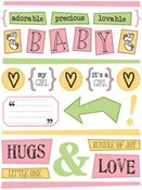 Baby Girl Stickers
