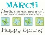March Monthly Memories