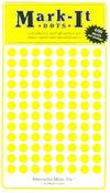 Medium Yellow Dots Mark-Its Stickers