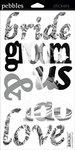 Wedding Snapshot Words Stickers