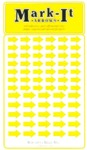 Assorted Yellow Arrows, Mark-It