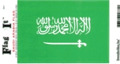 Saudi Arabia Flag Decal Sticker