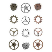 Sprocket Gears - Tim Holtz Idea - ology