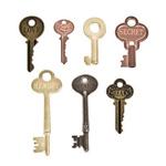 Word Keys - Tim Holtz Idea - ology