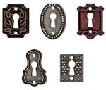 Key Holes - Tim Holtz Idea - ology