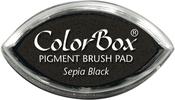 Sepia Black Pigment Cat's Eye Inkpad
