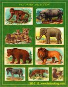 Victorian Safari Stickers