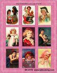 Victorian Child Portraits Stickers